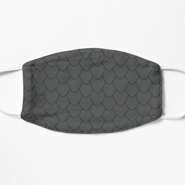 Black Dragon Scales Flat Mask