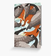 Smirre Fox Greeting Card