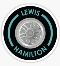 Lewis Hamilton Tyre Sticker
