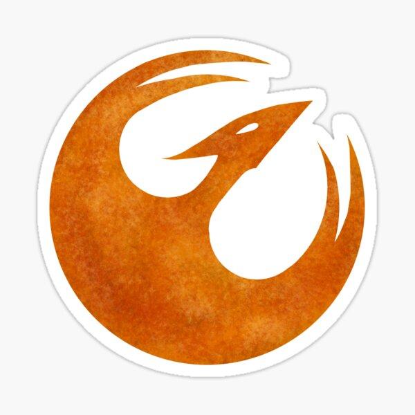 Rebel Starbird Sticker