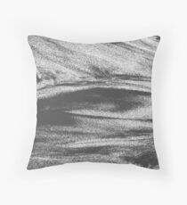 STREAM I / mono Throw Pillow