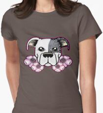 sugar flopped bull Women's Fitted T-Shirt