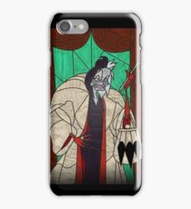 Seeing spots - Stained glass villains iPhone Case/Skin