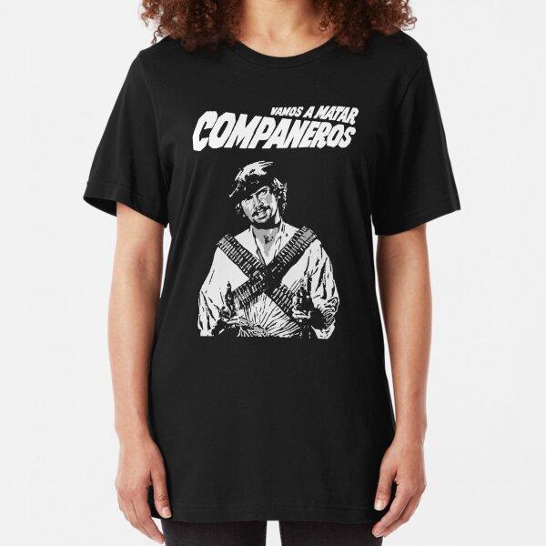 Vamos a matar compañeros Tomas Milian Slim Fit T-Shirt