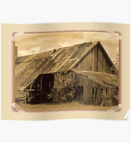 """""""Timeworn Photo Albums and Golden Days""""... prints and products Poster"""