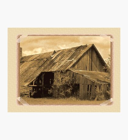 """""""Timeworn Photo Albums and Golden Days""""... prints and products Photographic Print"""