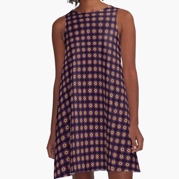 Mosaïque pentagonale A-Line Dress