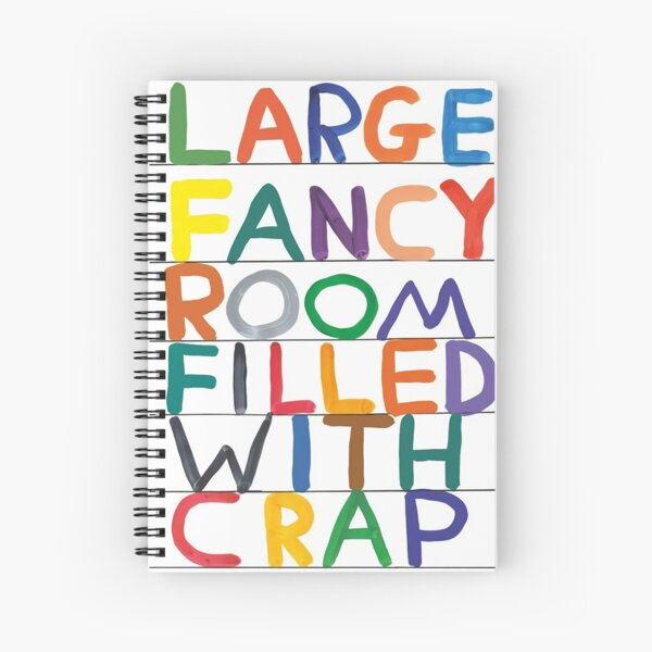 The Abjad David Colourfull Spiral Notebook