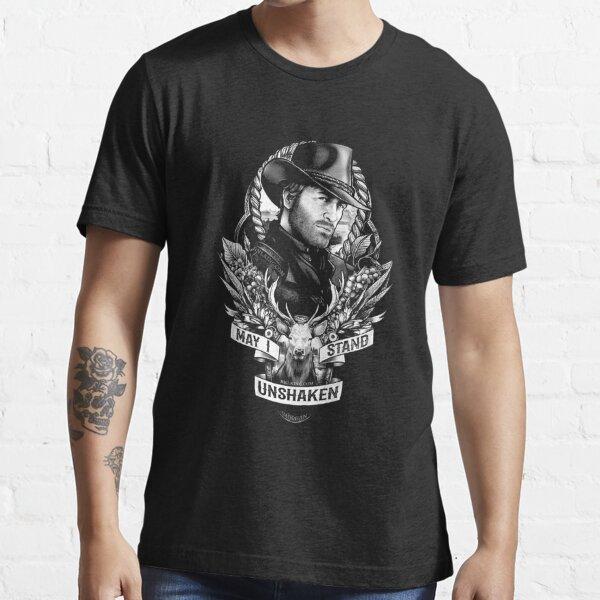 Puis-je rester inébranlable Arthur Morgan Red Dead Redemption 2 T-shirt essentiel
