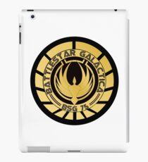 Battlestar Galactica Golden Logo iPad Case/Skin