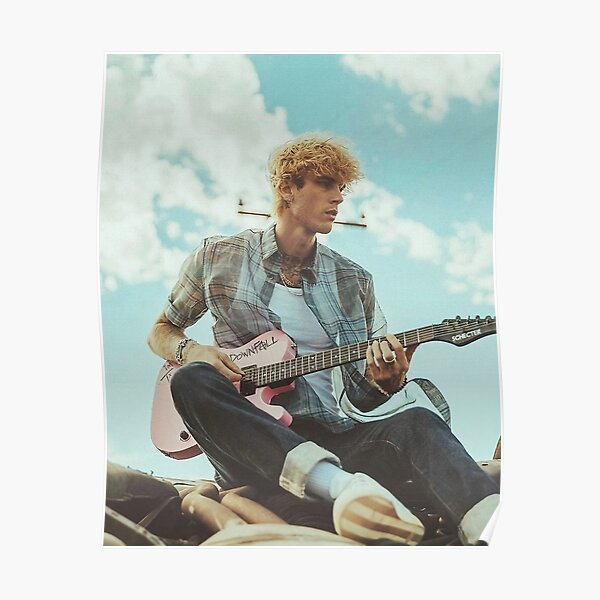 Playing Guitar Swag Poster