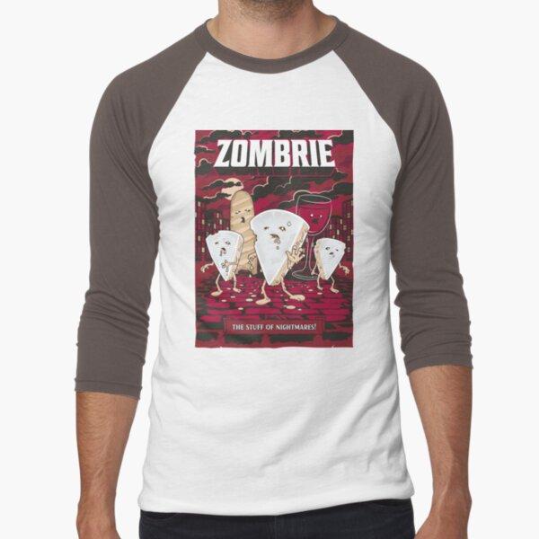 Zombrie Baseball ¾ Sleeve T-Shirt