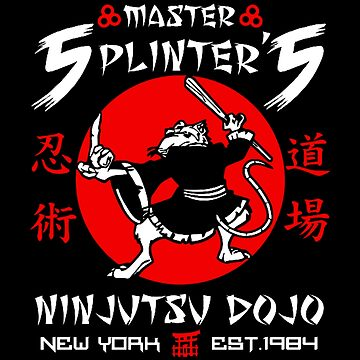 Master Splinter Ninjutsu by Nowonart