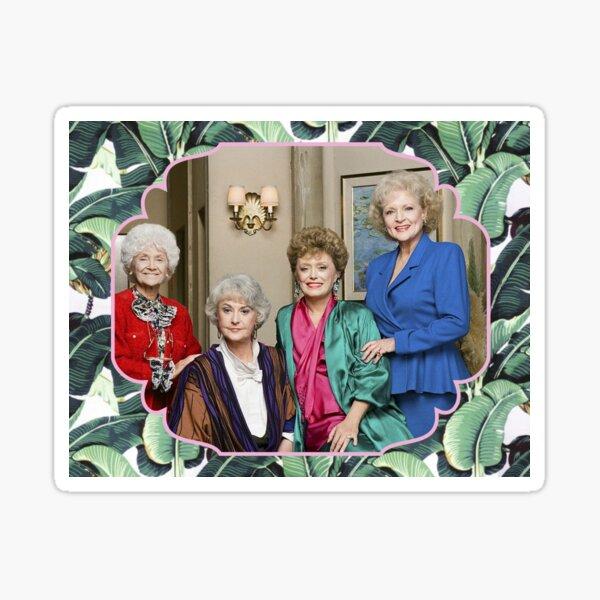 The Golden Girls Friends Forever Sticker