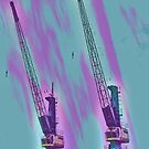 Cranes by RosiLorz