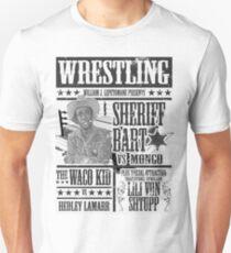 BLAZING SADDLES WRESTLING Unisex T-Shirt