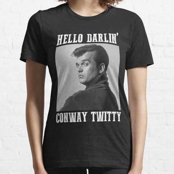 Conway Twitty Hello Darlin' Country Legend FanArt Essential T-Shirt