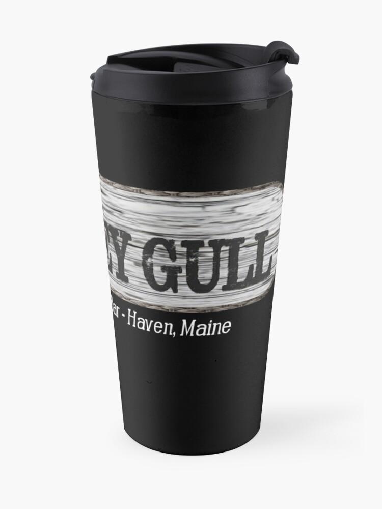 Alternate view of Grey Gull Haven Travel Mug