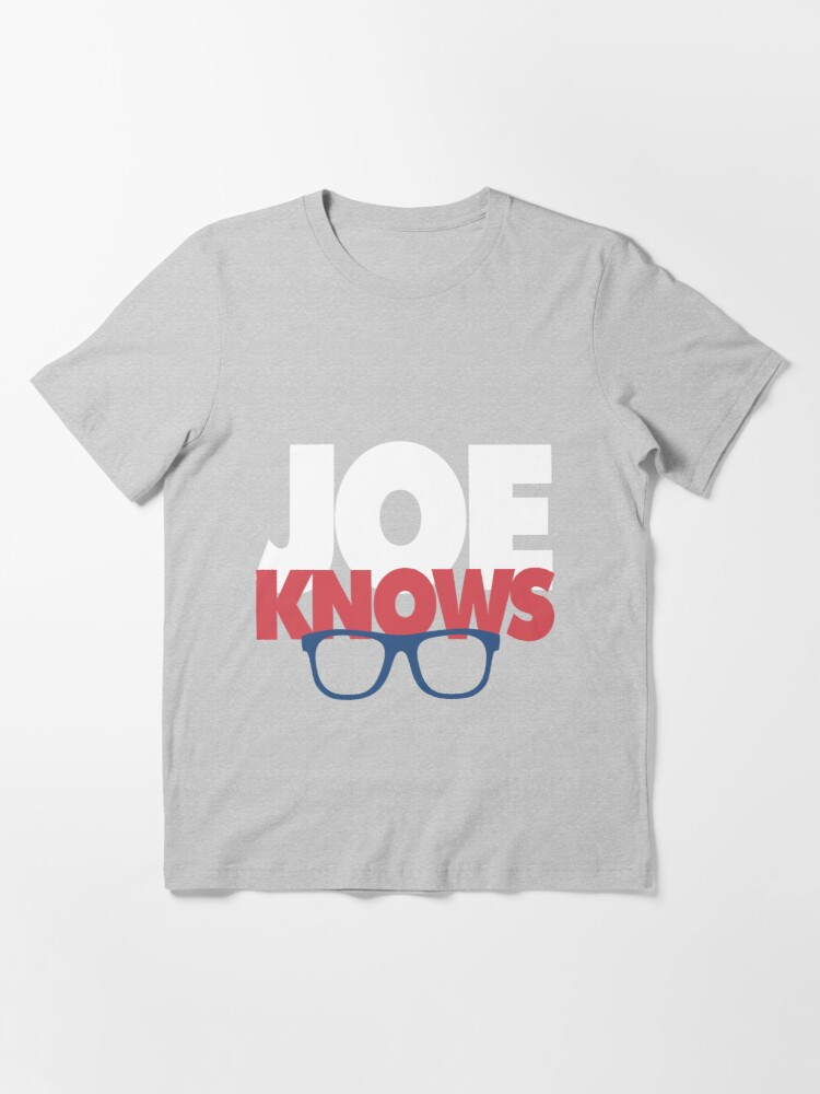 Alternate view of Joe Knows Baseball Essential T-Shirt