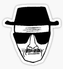 Heisenberg - Breaking Bad Sticker
