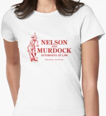 Nelson and Murdock Women's Fitted T-Shirt