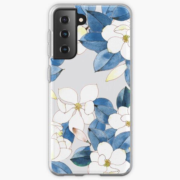 Magnolia in Spring Samsung Galaxy Soft Case