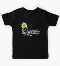 Queen (Black) The Hers of the His and Hers Kids Tee