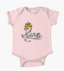 KING (White) The His of The His and Hers couple shirts Kids Clothes