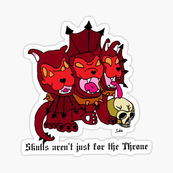 Karanak Warhammer Pupper Sticker
