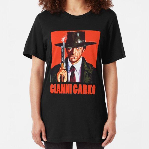 Gianni Garko - Sartana Spaghetti Western Slim Fit T-Shirt