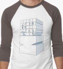 Z's Alphabet Men's Baseball ¾ T-Shirt