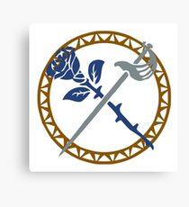 La Rosa Azul [ROSE] Guild Canvas Print