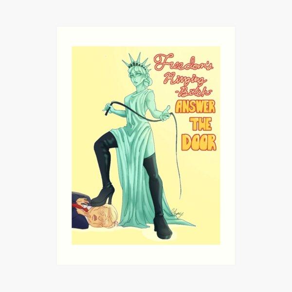 Mistress Liberty Art Print