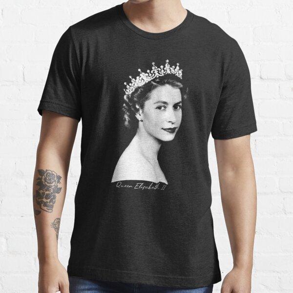 Königin Elizabeth II - Retro Essential T-Shirt