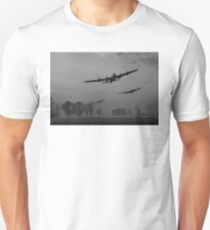 Dambusters departing, B&W version T-Shirt