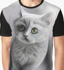 british shorthair kitten /Agat/ Graphic T-Shirt