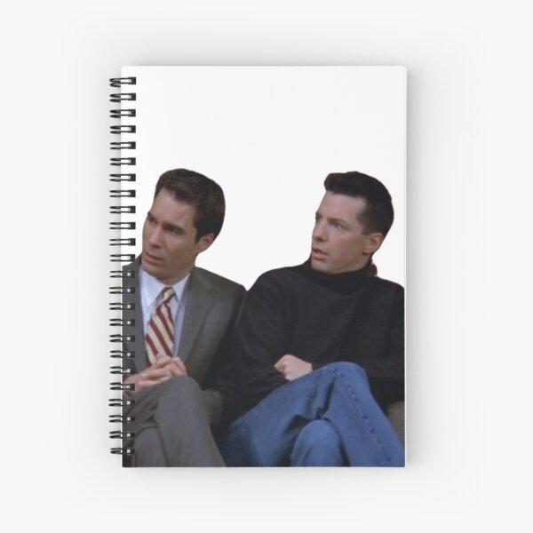 will & jack Spiral Notebook