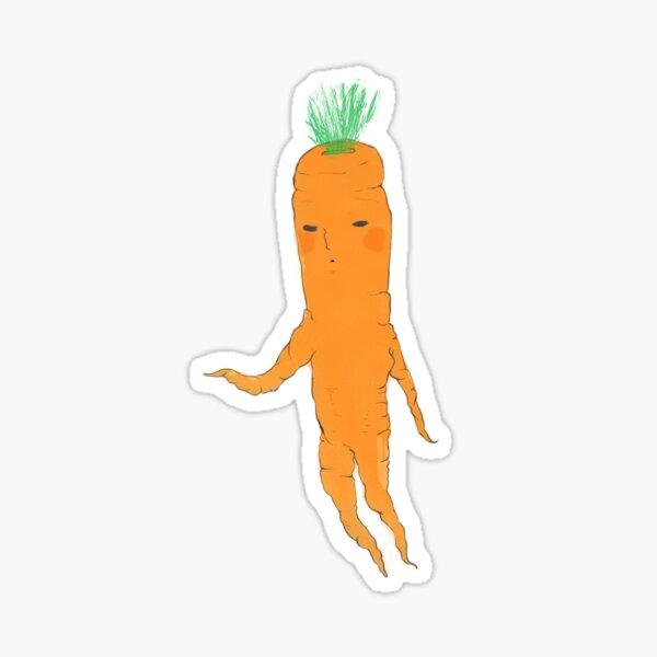 Dancing Carrot Sticker