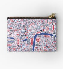London City Map Poster Studio Pouch