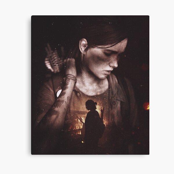 Ellie The Last of Us 2  Canvas Print