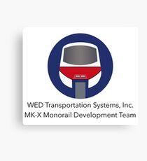 MK-X Monorail Development Team Canvas Print