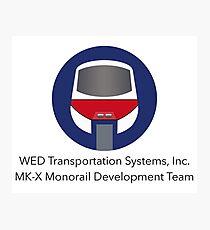 MK-X Monorail Development Team Photographic Print