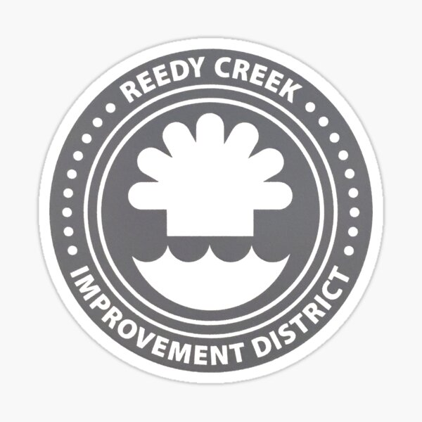 Reedy Creek Improvement District Sticker