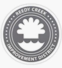 Reedy Creek Improvement District Transparent Sticker