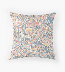 Amsterdam City Map Dekokissen