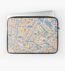 Amsterdam City Map Laptop Sleeve