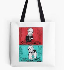 Sovereigns Hate Sweets - Red and Blue Tote Bag