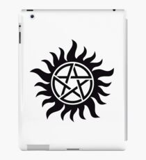 Supernatural TV Series Hunter Sigil Tattoo iPad Case/Skin