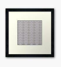 Cryptric Cool Framed Print