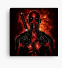 Classic Superhero 2 Canvas Print